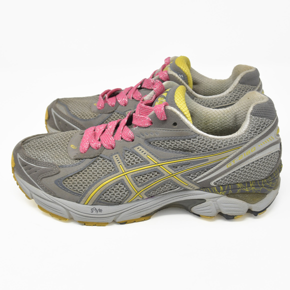 Asics Athletic Silver Hiking Running Trail Gt 2160 EDHW29I
